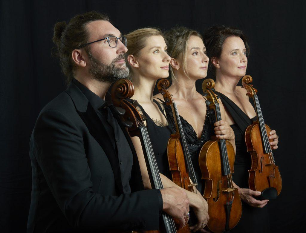 Quatuor Psophos /crédit Thomas Baltes